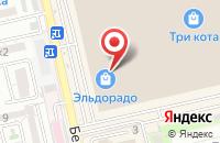 Схема проезда до компании Пекоф в Астрахани