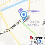ВТС-Экспедирование на карте Астрахани
