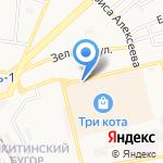 ФЭД на карте Астрахани