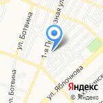 Аст-Клинкер на карте Астрахани
