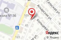 Схема проезда до компании Аст-Клинкер в Астрахани