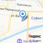 Средняя общеобразовательная школа №40 на карте Астрахани