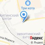 Флагман на карте Астрахани