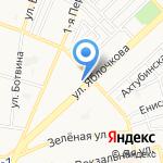 Росстрой на карте Астрахани