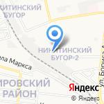 Астрстройинвест на карте Астрахани