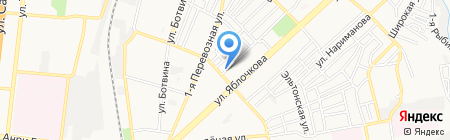 Правовой центр Е.А. Шалом на карте Астрахани