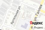 Схема проезда до компании Лама в Астрахани