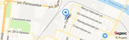 Специальная коррекционная общеобразовательная школа-интернат №7 VI вида на карте Астрахани