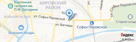 Банкомат Банк УралСиб на карте Астрахани