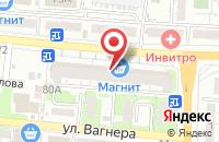 Схема проезда до компании ФабрикантЪ-оконные системы в Астрахани