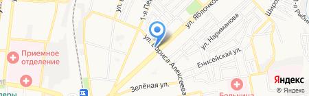 Три рубля на карте Астрахани
