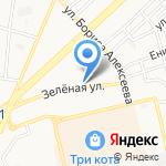 Смета Астрахань на карте Астрахани