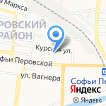 Айболит на карте Астрахани