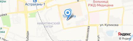 Несъемная Опалубка на карте Астрахани