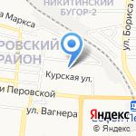 Детский сад №8 на карте Астрахани