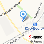 Рог изобилия на карте Астрахани
