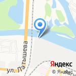 Русский Холодъ на карте Астрахани