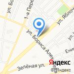 Магазин мяса на карте Астрахани