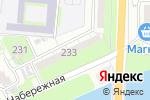 Схема проезда до компании Фрегат в Астрахани