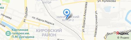 Первая на карте Астрахани