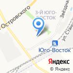Звёздочка на карте Астрахани