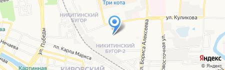 Аптека+ на карте Астрахани