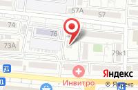 Схема проезда до компании 7-я в Астрахани