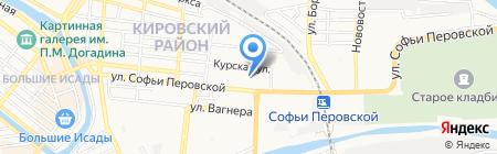 7-я на карте Астрахани