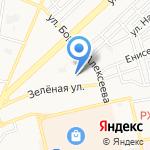 Волгорята на карте Астрахани