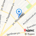 Аптека №1 на карте Астрахани