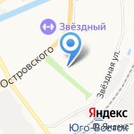 Исида на карте Астрахани