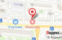 Схема проезда до компании Ваш климат в Астрахани
