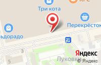 Схема проезда до компании Play House в Астрахани
