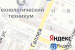 Схема проезда до компании Ремез в Астрахани