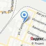 Находка на карте Астрахани