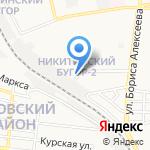 Школа каратэ киокушинкай на карте Астрахани