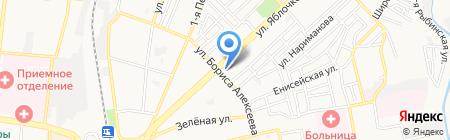 Лето Банк на карте Астрахани