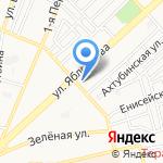 Шанталь на карте Астрахани
