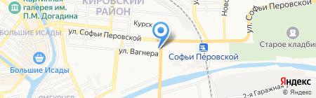 Магнат на карте Астрахани