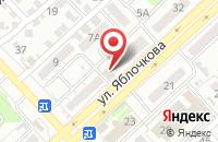 Схема проезда до компании Сюрприз в Астрахани