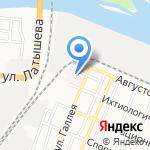 Детская городская клиническая больница №2 на карте Астрахани