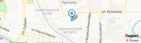 Асс на карте Астрахани