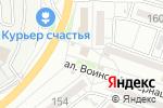 Схема проезда до компании Седьмое чувство в Астрахани