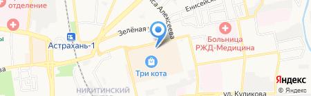 Астраханский объединенный сервисный центр на карте Астрахани