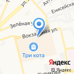 Бочароff на карте Астрахани