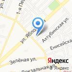Отдел полиции №2 на карте Астрахани