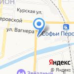 Сеть платежных терминалов на карте Астрахани