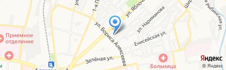 Отдел полиции №2 Управления МВД России по г. Астрахани на карте Астрахани