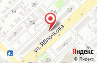 Схема проезда до компании Меркурий в Астрахани