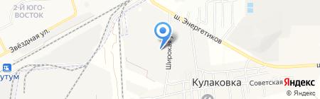 Трест Прикаспийэлектросетьстрой на карте Астраханской области